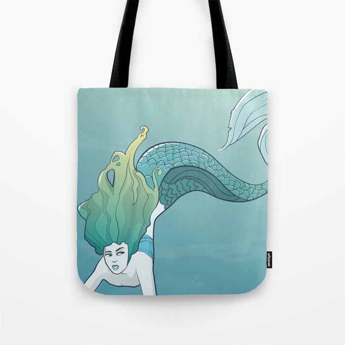 Little Mermaid Tote Bag By Jaimiehutton