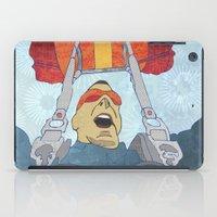 ski iPad Cases featuring Ski dive by Aquamarine Studio