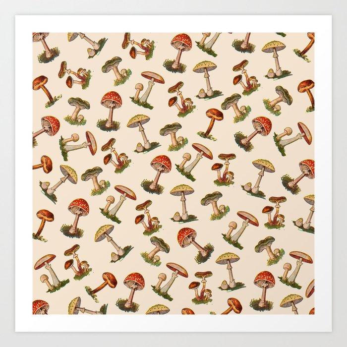 Magical Mushrooms Kunstdrucke