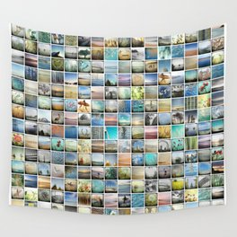 Multi Image Wall Tapestry