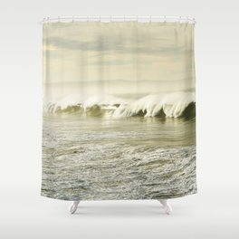 Pismo Waves Shower Curtain