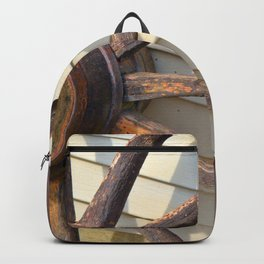 Wheel of a Wagon Backpack