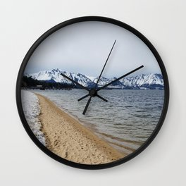 Snow and Sand Wall Clock