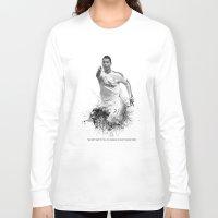 ronaldo Long Sleeve T-shirts featuring Ronaldo  by Sjors van den Hout