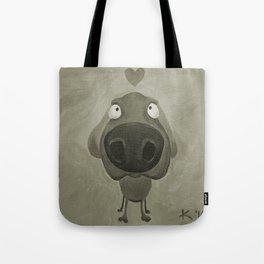 Weimaraner Love - Grey Tote Bag