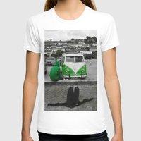 volkswagen T-shirts featuring #volkswagen#surf by Aurian82
