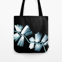 neon Tote Bags featuring Neon by LinnaDesign