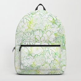 Fresh bright blooms Backpack