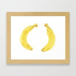 Banana, Banana Framed Art Print