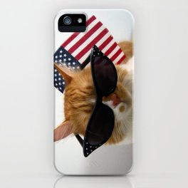PAWSitively Patriotic iPhone Case