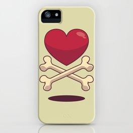 bone up on love iPhone Case