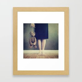 Don't Let Go Framed Art Print