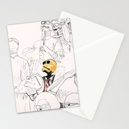 Front Row for Doomsday Stationery Cards