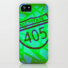 Interstate 405 iPhone Case