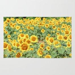 Sunflower Fields Rug