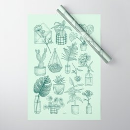 PLANTS LOVER Wrapping Paper