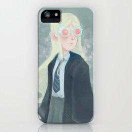 Luna Lovegood and her Spectrespecs iPhone Case