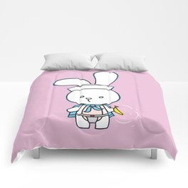Stinky Bunny has a present for you! Comforters
