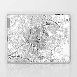 Austin White Map Laptop & iPad Skin