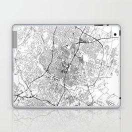 Austin White Map Laptop & iPad Skin
