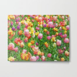 A Vision of Tulips Metal Print