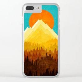 HOT LANDSCAPE Clear iPhone Case