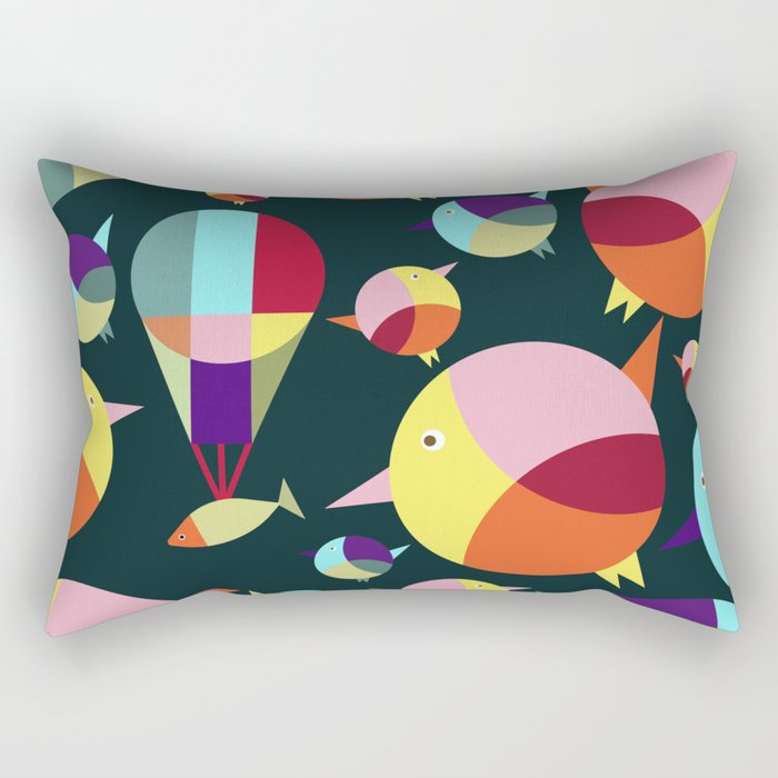 I Can Fly Rectangular Pillow