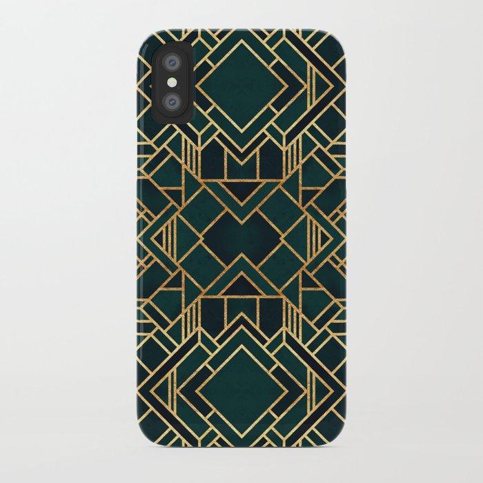 Art Deco 2 Iphone Case By Elisabethfredriksson Society6