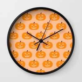 Cute Pumpkins Wall Clock