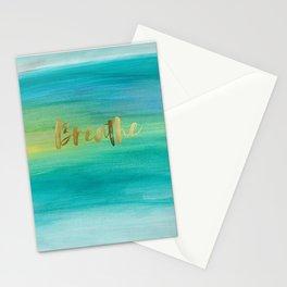 Breathe, Ocean Series 4 Stationery Cards
