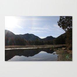 High Peaks Upstate New York Lake Placid Canvas Print