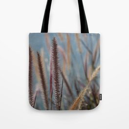 Fuzzy Reeds Tote Bag