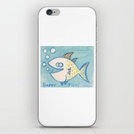 Happy Fish! 7 iPhone Skin
