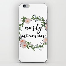 Nasty woman iPhone & iPod Skin
