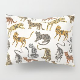 Tiger Collection – Neutral Palette Pillow Sham