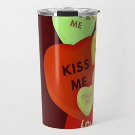 Cupid in search mode-Vintage Travel Mug