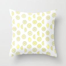 Sweet Citrus Mix Throw Pillow