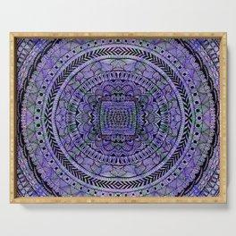 Zentangle Mandala Serving Tray