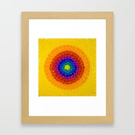 Classical African-American Masterpiece 'Resurrection' by Alma Thomas Framed Art Print