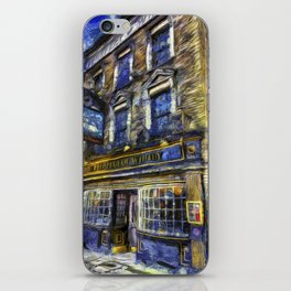 The Prospect Of Whitby Pub Art iPhone Skin