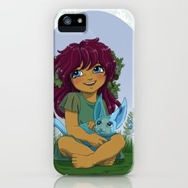 Eniau and spirit - Spirit pal iPhone Case
