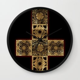 Lament Configuration Cross Wall Clock