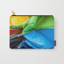 Closed Rainbow Umbrella Carry-All Pouch