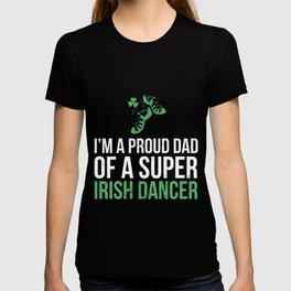 Proud Dad of an Irish Dancer T-shirt