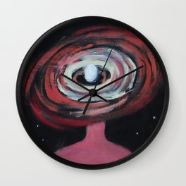 Galaxy Portrait 2 Wall Clock