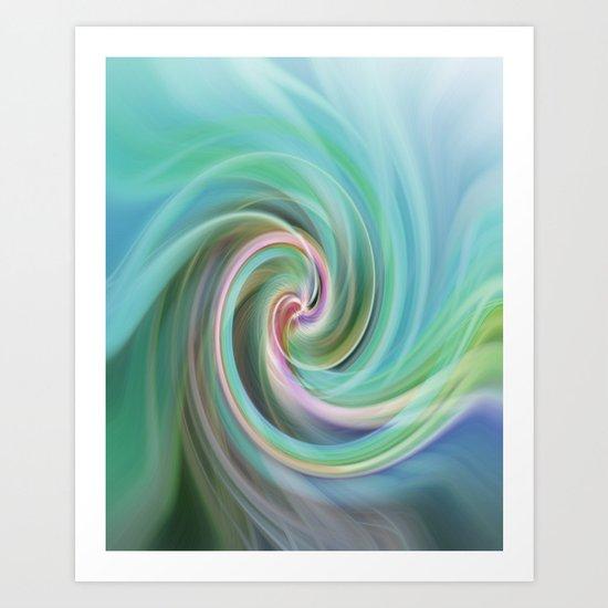 Whirl #1 Art Print