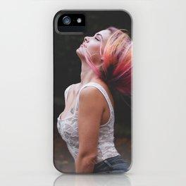 Enjoy Life #girl #adventure iPhone Case