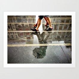 Dirty Rain Art Print