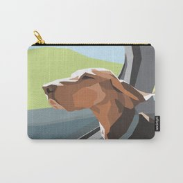 Hound in the Sunshine Carry-All Pouch