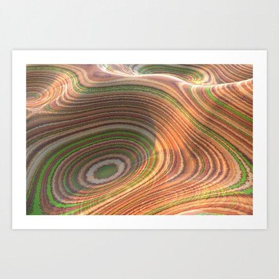 Wavy_Gravy Art Print